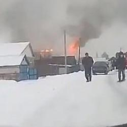 На пожаре в Алексеевском погибла пожилая женщина (ВИДЕО)