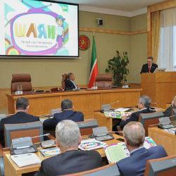 Минниханову представили проект детского канала на татарском языке