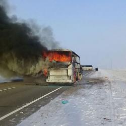 Узбекская диаспора: сгоревший с 52 пассажирами автобус ехал не в Казань