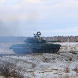Танк задавил солдата на военном полигоне в Челябинской области