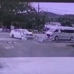 Появилось ВИДЕО ДТП в Пхукете, где при лобовом столкновении погибли две россиянки