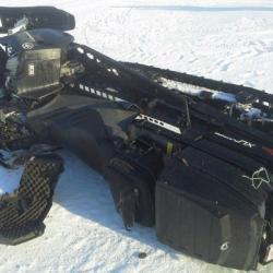 В Татарстане пятилетний ребенок упал со снегохода и получил черепно-мозговую травму