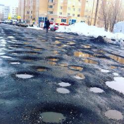 В Татарстане инспекторы ДПС будут фотографировать дорожные ямы на планшеты