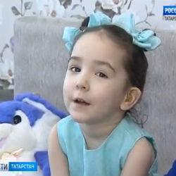 София Сякаева очень хочет жить в мире звуков и слышать голос мамы (ВИДЕО)