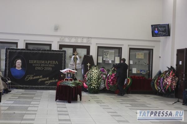 В Казани простились с Еленой Шишмаревой (ФОТО)