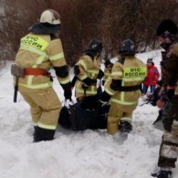 В Татарстане под снежной лавиной погиб 15-летний подросток