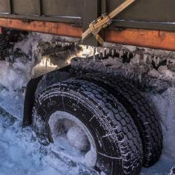 Водитель вмерзшего в реку большегруза неделю прожил в кабине, ожидая помощь
