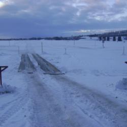 В Татарстане одна переправа остается закрытой