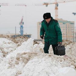 Серый снег в Нижнекамске: экологи озвучили результаты проб