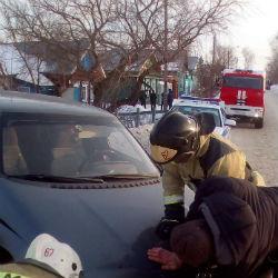 В Чистополе легковушка столкнула женщину с десятиметрового моста (ФОТО)