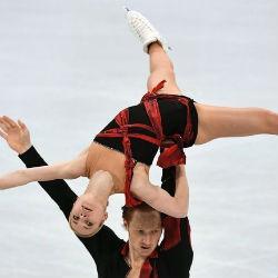 Казанская фигуристка Евгения Тарасова выиграла короткую программу командного турнира Олимпиады