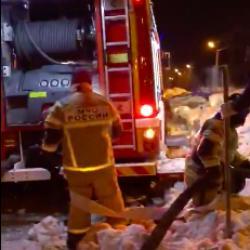 Тушить или копать? Огнеборцам Татарстана приходится искать пожарные гидранты под снегом (ВИДЕО)