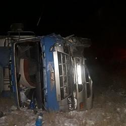 Четыре человека погибли в ДТП с фурой в Башкирии (ФОТО)