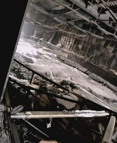 В соцсетях появились первые ФОТО из сгоревшего ТЦ «Зимняя вишня»