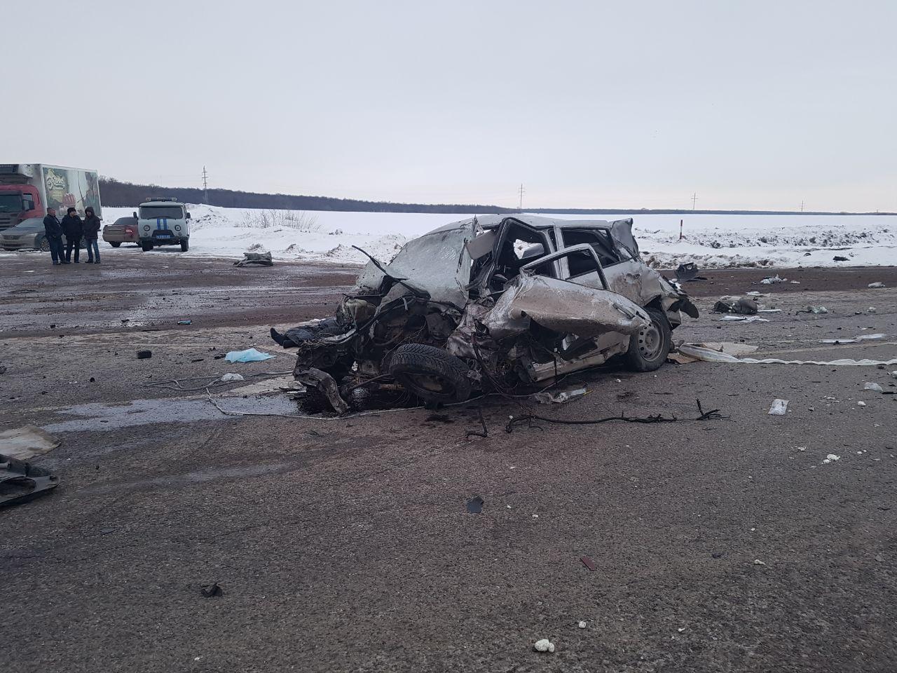 Житель Татарстана под Уфой стал виновником массового ДТП со смертельным исходом (ФОТО)
