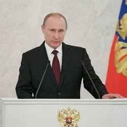 В Кремле Владимир Путин выступает с Посланием Федеральному собранию (ПРЯМОЙ ЭФИР)