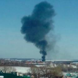 В Кукморе страшный пожар (ФОТО)