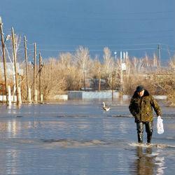 Татарстану грозит потоп из-за снежной зимы и резкого потепления