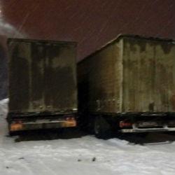 Под Казанью сгорели три грузовика, один водитель получил серьезные ожоги (ФОТО)