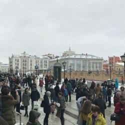 В торговых центрах Казани провели учебную эвакуацию (ВИДЕО)