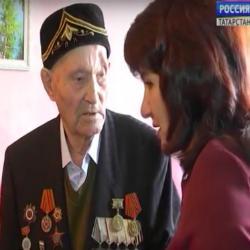 В Елабуге участник Великой Отечественной войны отмечает столетие (ВИДЕО)