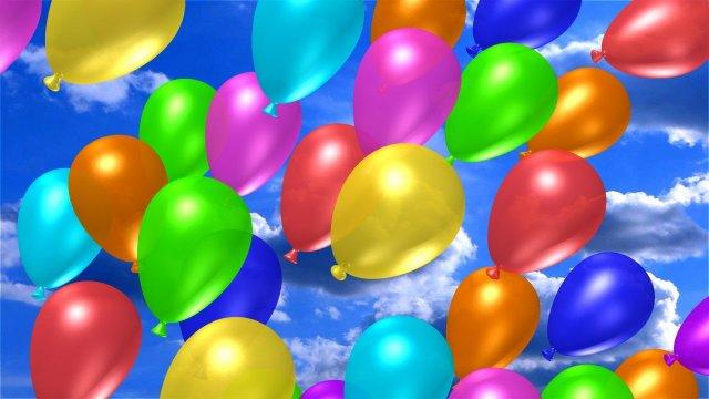 Доставка воздушных шаров в любое время суток