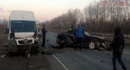 Дальнобойщик из Татарстана спровоцировал массовое ДТП на трассе М-7 (ФОТО)