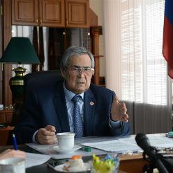 Тулеев в ВИДЕОобращении объяснил причины своей отставки