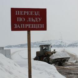 Все ледовые переправы в Татарстане закрыты для движения автотранспорта
