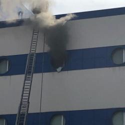 В результате пожара в ТЦ
