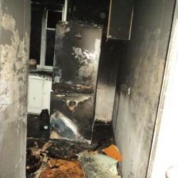 В Казани два человека погибли при пожаре в квартире