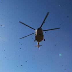 В Хабаровске вертолет Ми-8 упал на улицу. Есть погибшие (ВИДЕО)