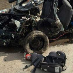 Жуткое ДТП в Татарстане: автомобиль превратился в груду металла (ФОТО)