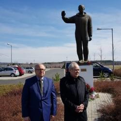 Минтимер Шаймиев в Чехии возложил цветы к памятнику Юрию Гагарину