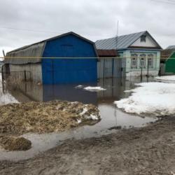 В Татарстане затопило 44 приусадебных участка, 4 моста и грунтовую дорогу