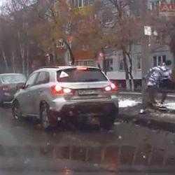 Татарстанец преследовал водителя-подростка, протаранившего три авто (ВИДЕО)