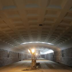 Ильсур Метшин потребовал ускорить темпы строительства станции метро «Дубравная». Первые ФОТО станции.