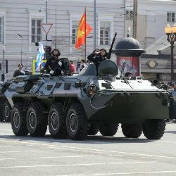9 мая по площади Тысячелетия впервые проедут «Катюша» и Т-34