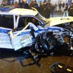Опубликовано ВИДЕО допроса водителя BMW, протаранившего машину ДПС в Казани