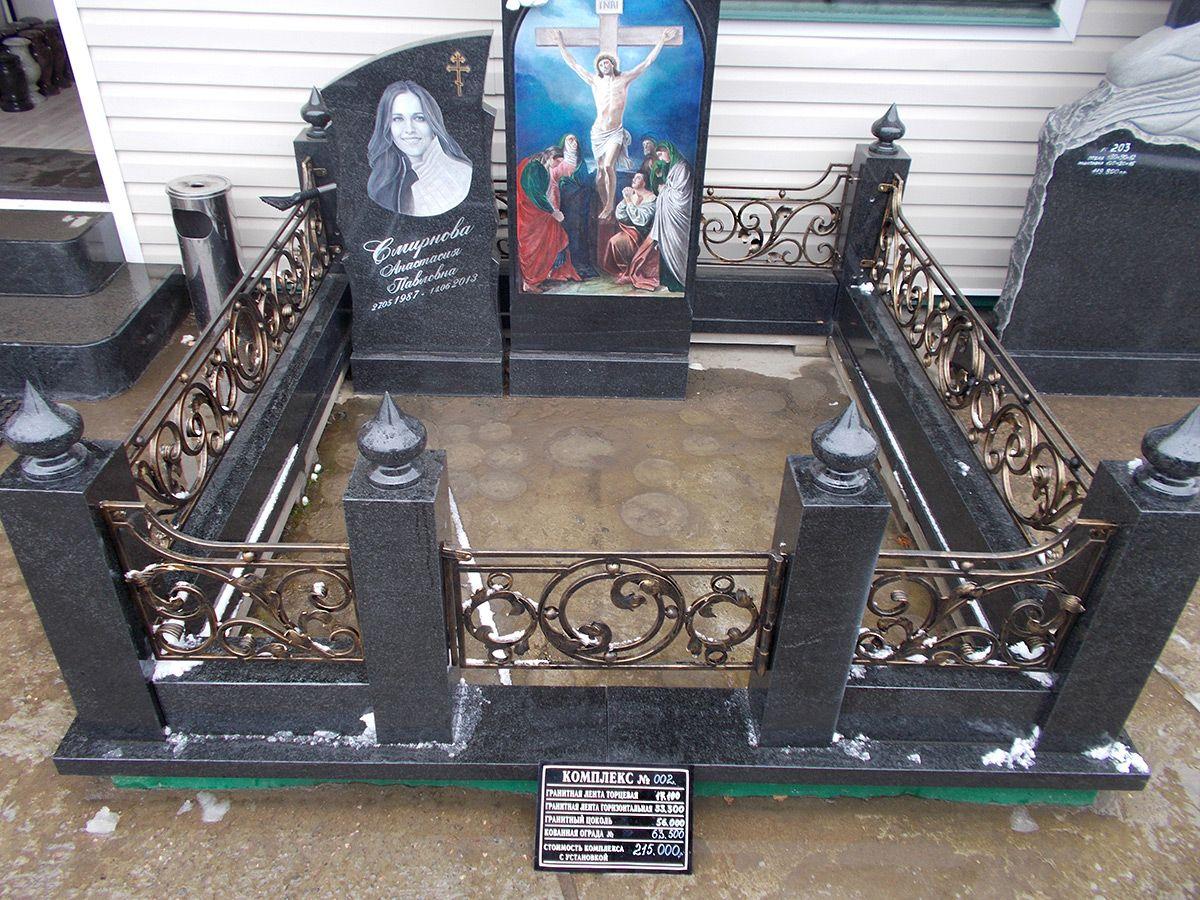 Цоколи из гранита – оптимальный вариант долговечного и надежного оформления могилы