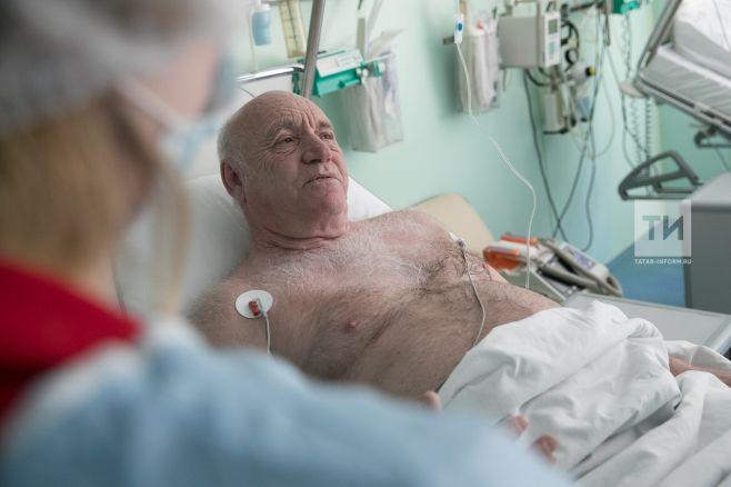 Казанские врачи стабилизировали пациента, которого сняли с рейса Москва-Новосибирск
