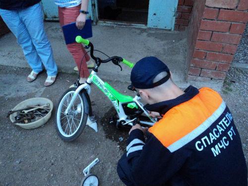В Лениногорске спасли 4-летнего мальчика (ФОТО)