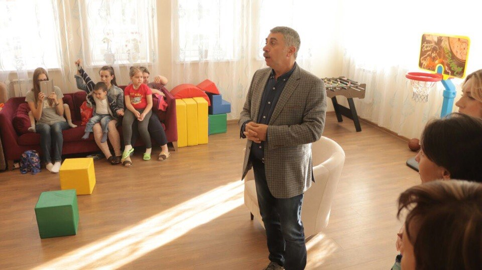 Доктор Комаровский посетил «Дом Роналда Макдоналда» в Казани (ФОТО)