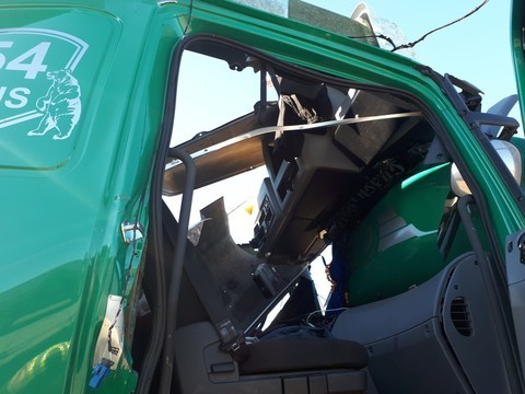 В Татарстане взорвался нижегородский «КАМАЗ» с пивными бутылками (ФОТО)