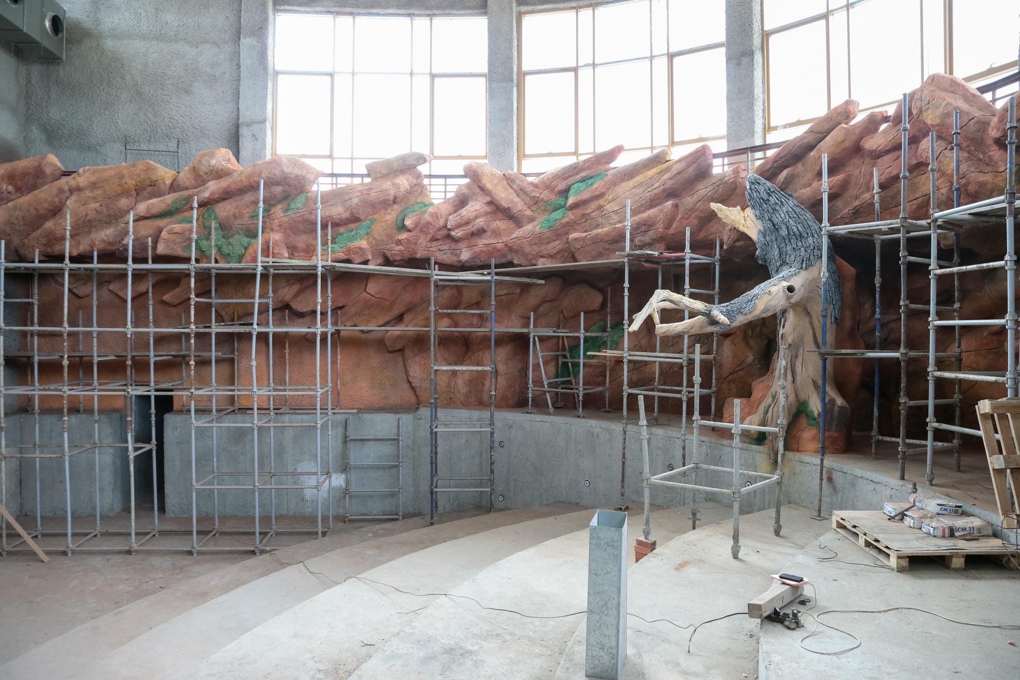 «Африканская» часть казанского зоопарка готова на 80 процентов (ФОТО, ВИДЕО)