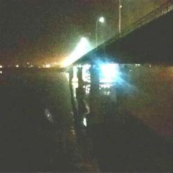 В Татарстане баржа врезалась в опору моста (ФОТО, ВИДЕО)