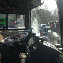 ДТП с участием автобуса и пенсионерки в Казани попало на ВИДЕО