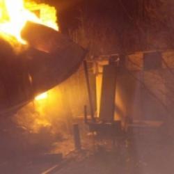 В дачном домике под Казанью сгорел 69-летний мужчина