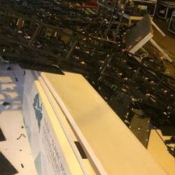 В «Корстоне» рухнули подвесные конструкции (ФОТО)