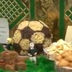 В Казани во время ЧМ-2018 приготовят чак-чак в форме мяча весом 1,5 тонны